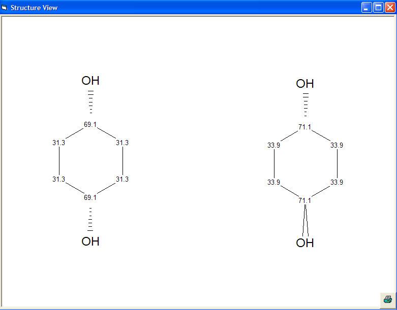 Modgraph C13 NMR Prediction: CSEARCH